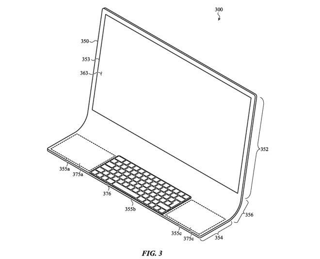 Patent dotyczący komputera iMac /materiał zewnętrzny