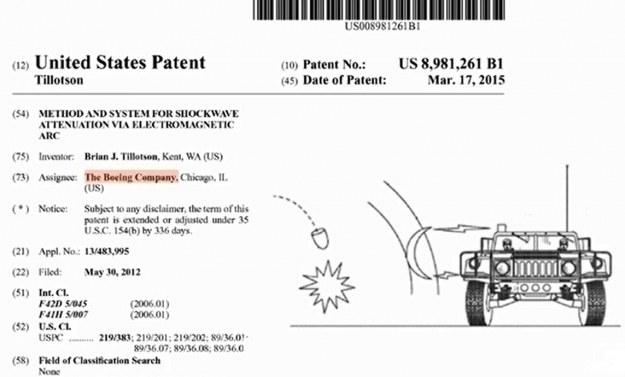 Patent na pole siłowe opracowane przez Boeinga. /materiały prasowe