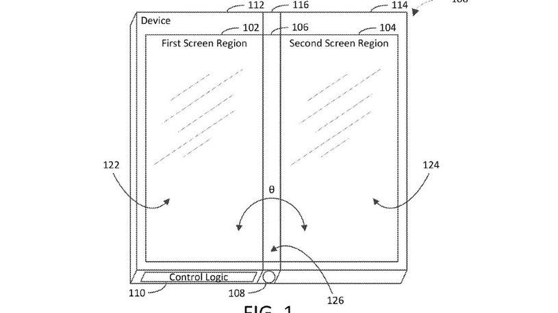 Patent na składany sprzęt od Microsoftu / fot. SlashGear /materiał zewnętrzny