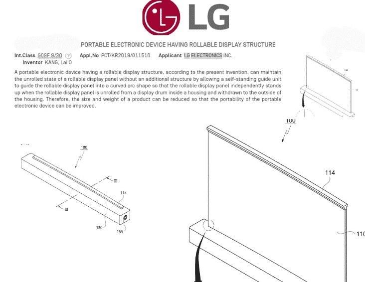 Patent nowego laptopa LG / fot. GizmoChina /materiał zewnętrzny