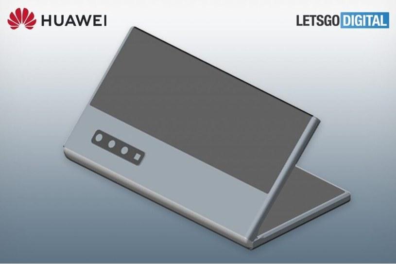 Patent nowego smartfona Huawei / fot. Let'sGoDigital /materiał zewnętrzny