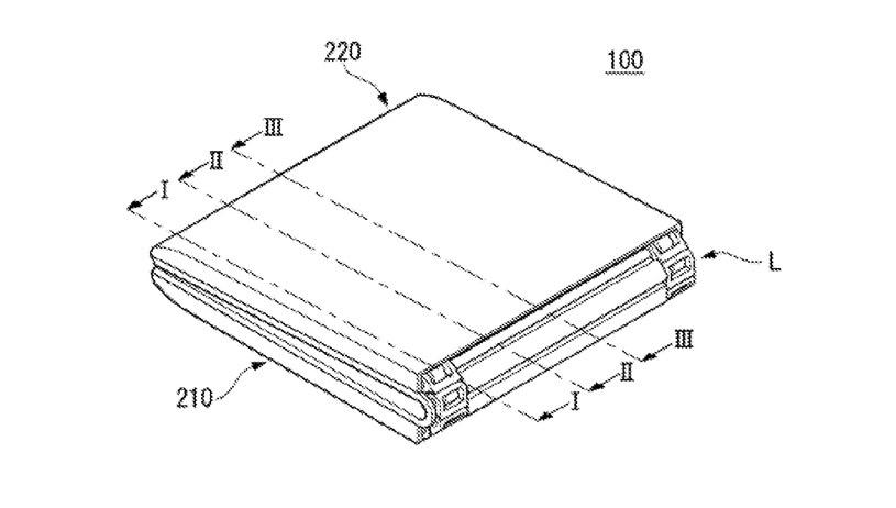 Patent składanego smartfona LG / fot. WIPO /materiał zewnętrzny