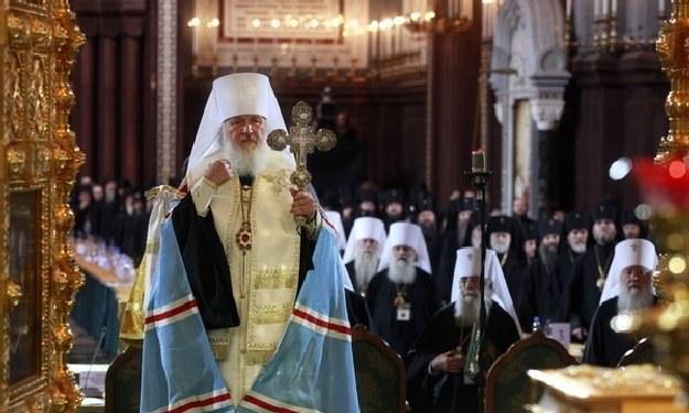 Patriarcha Cyryl I (Kiryłł), zwierzchnik Rosyjskiej Cerkwi Prawosławnej /AFP