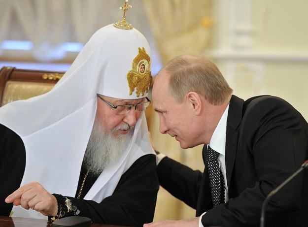 Patriarcha Cyryl i Władimir Putin /AFP