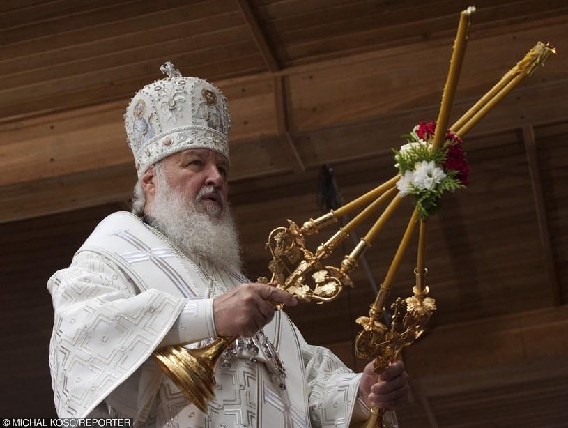 Patriarcha Cyryl /Michał Kość /Reporter