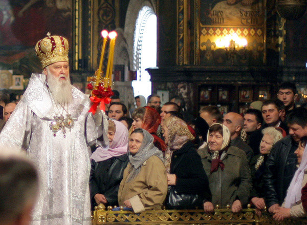 Patriarcha Filaret /AFP