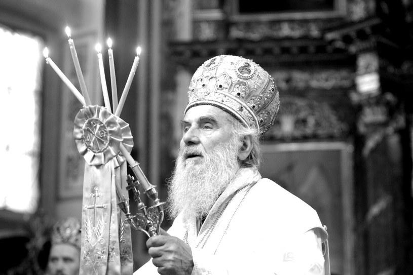 Patriarcha Irinej /EPA/ANDREJ CUKIC /PAP/EPA