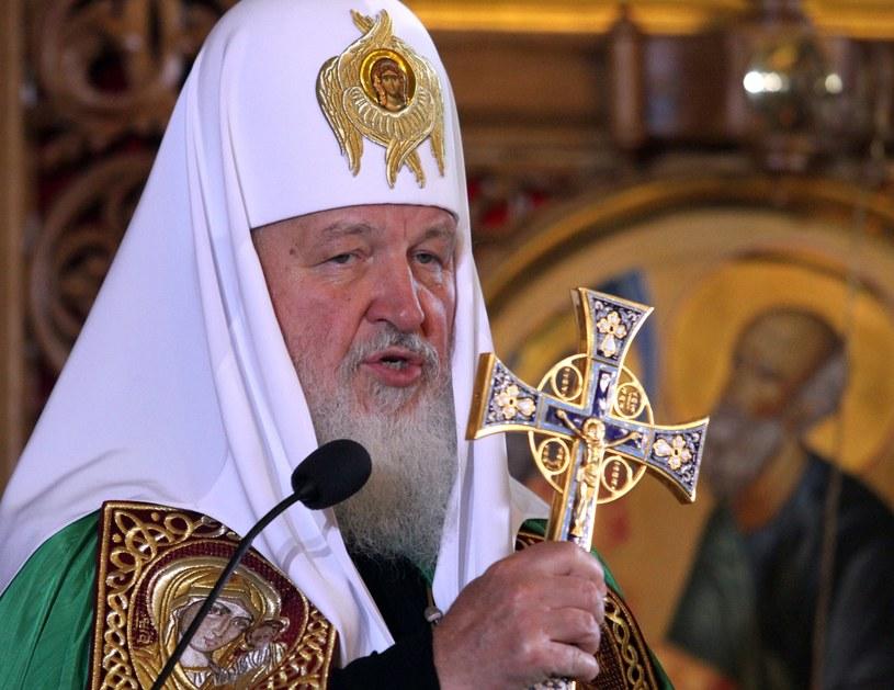 Patriarcha Moskwy i całej Rusi Cyryl I /Michał Dyjuk /Reporter