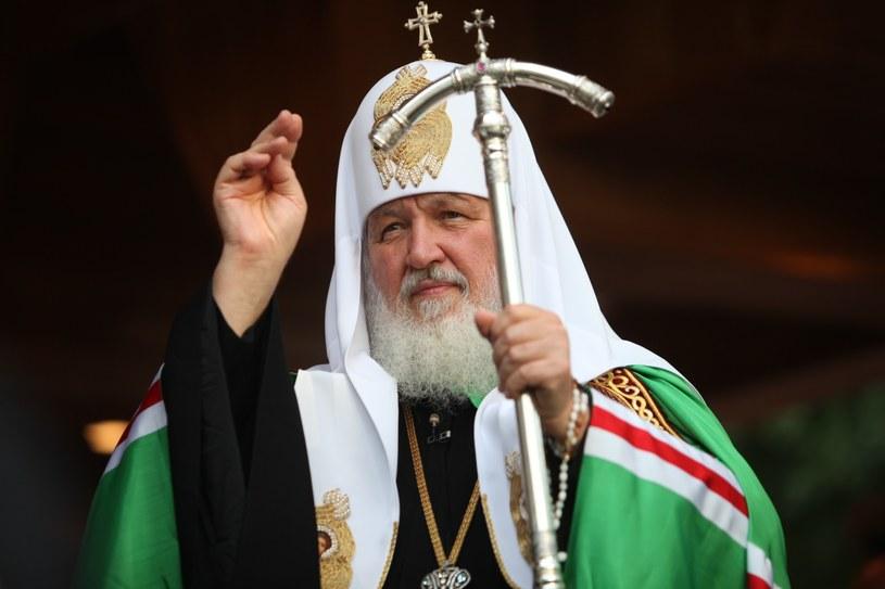 Patriarcha Moskwy i całej Rusi Cyryl I /Luka Lukasiak /East News