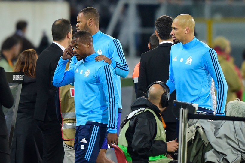 Patrice Evra czeka na decyzję UEFA /AFP