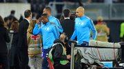 Patrice Evra kopnął kibica Marsylii w twarz i dostał czerwoną kartkę