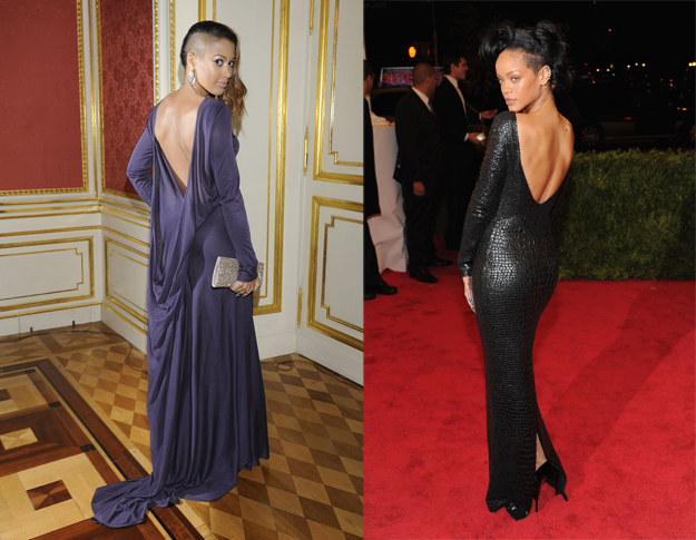Patricia i Rihanna /Jarosław Antoniak/ Getty Images /MWMedia