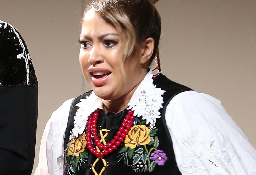 Patricia Kazadi w sztuce teatralnej /Pawel Wrzecion /MWMedia