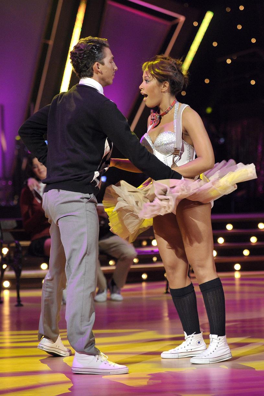 """Patricia Kazadi w """"Tańcu z gwiazdami"""", 2010 rok /Kurnikowski /AKPA"""