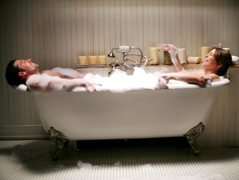 "Patrick Dempsey i Ellen Pompeo w serialu ""Chirurdzy"" /Karen Neal / ABC / Courtesy Everett Collection /East News"