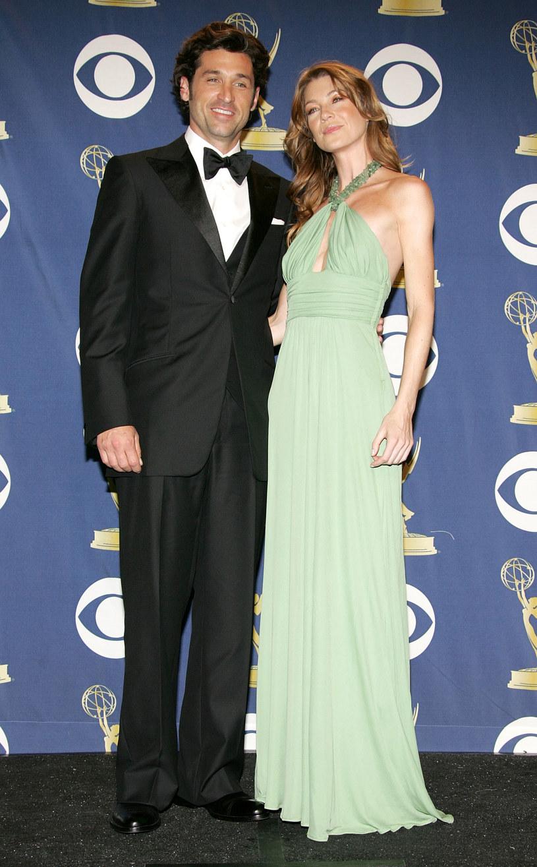 """Patrick Dempsey i Ellen Pompeo zarabiają po 350 tys. dolarów! W tym roku gwiazdy """"Chirurgów"""" renegocjowały kontrakty i dostały podwyżki. /Frazer Harrison /Getty Images"""