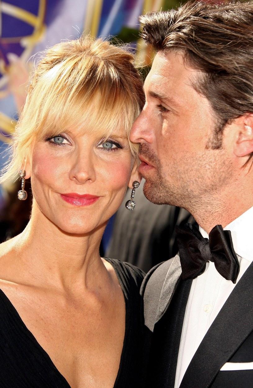 Patrick Dempsey i jego żona wrócili do siebie! /Kevin Winter /Getty Images