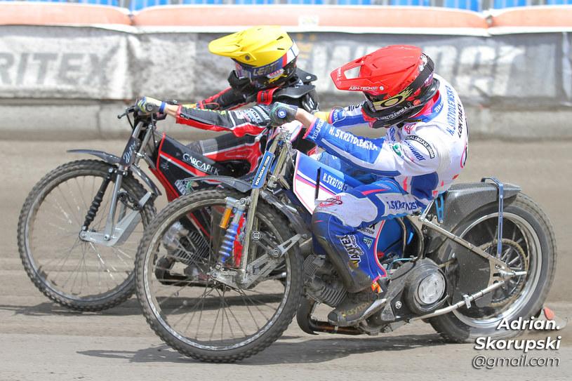 Patrick Hansen i Aleksandr Łoktajew /Adrian Skorupski /Flipper Jarosław Pabijan