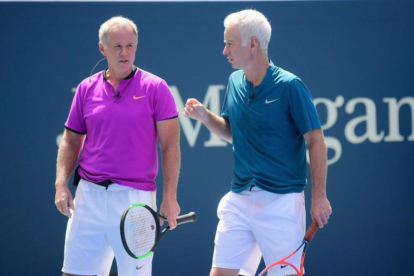 Patrick i John McEnroe /AFP