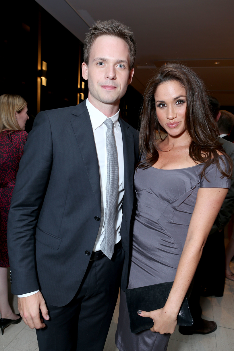 Patrick J Adams i Meghan Markle /Alexandra Wyman /Getty Images