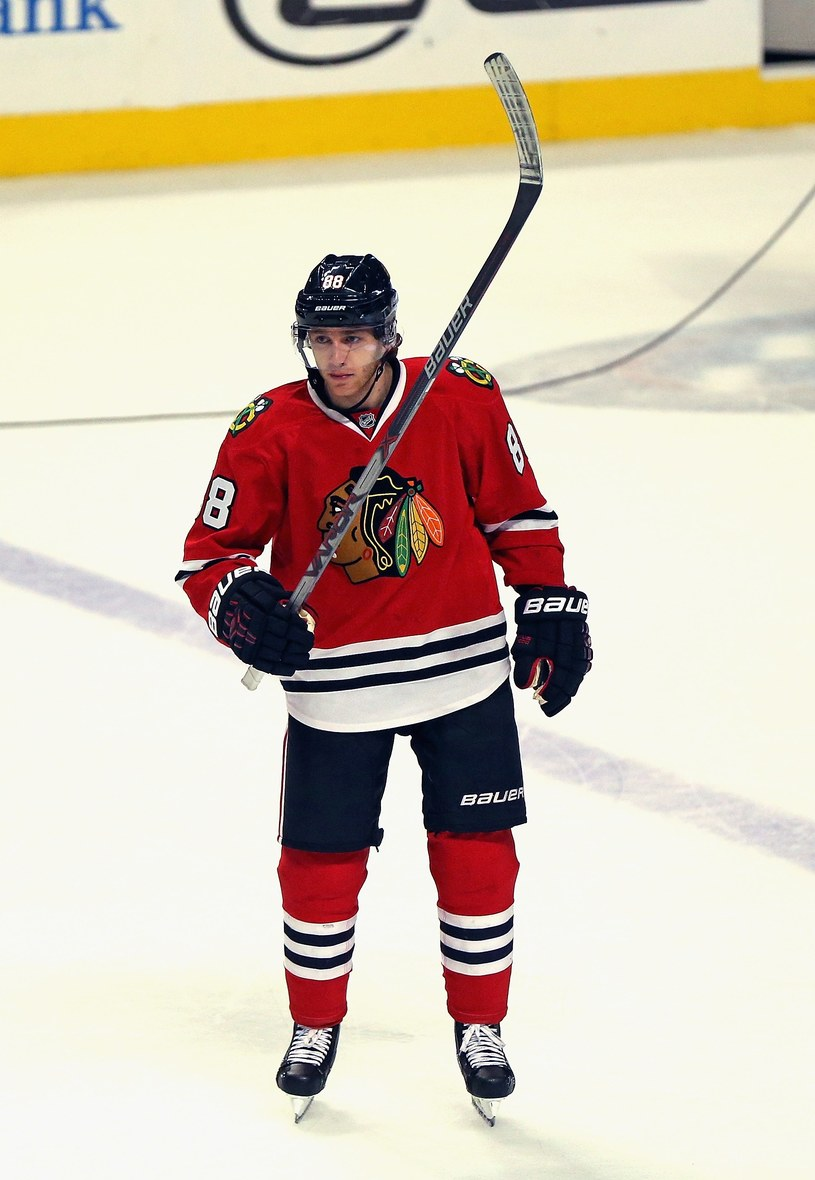 Patrick Kane z Chicago Blackhawks. /AFP