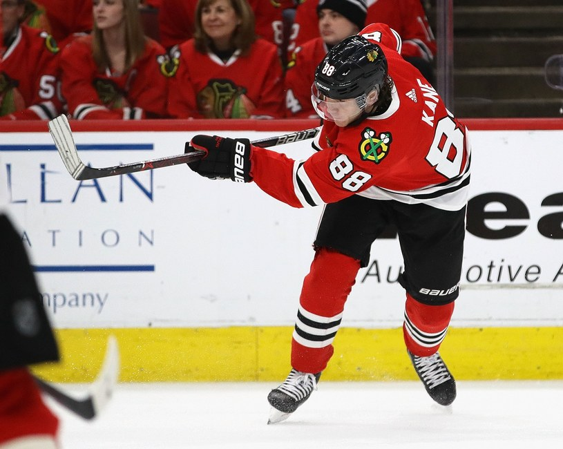Patrick Kane z Chicago Blackhawks /AFP