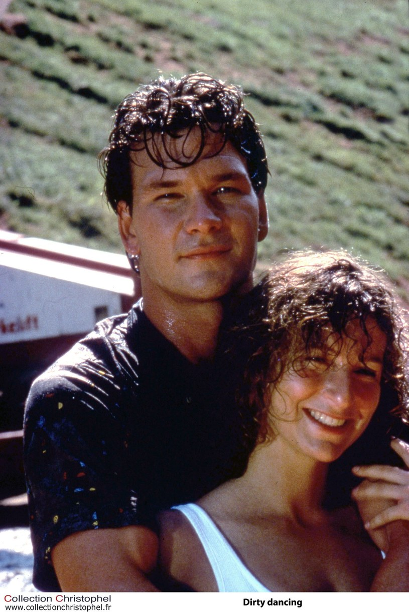 """Patrick Swayze i Jennifer Gray w filmie """"Dirty Dancing"""" /Collection Christophel /East News"""