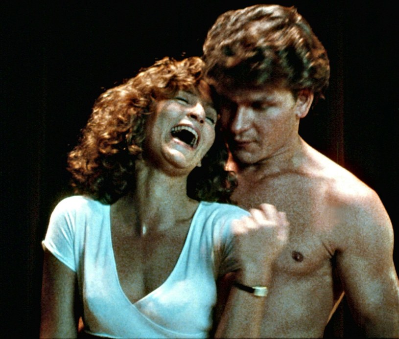 "Patrick Swayze ""kićka"" Jennifer Grey /East News"