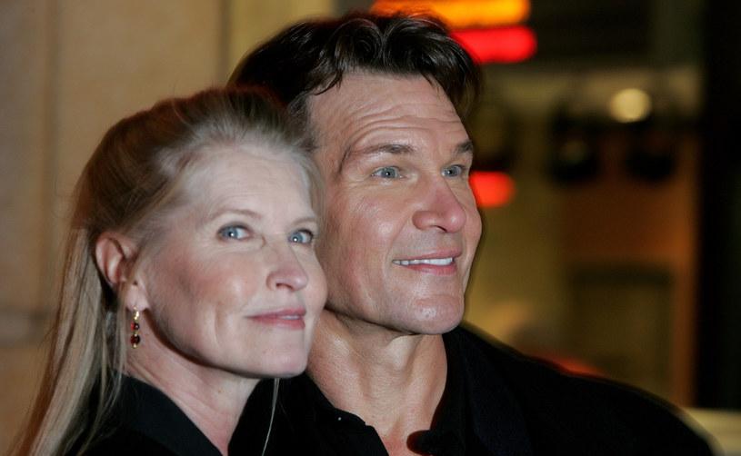 Patrick Swayze z żoną Lisą Niemi w Londynie (2005) /MJ Kim /Getty Images