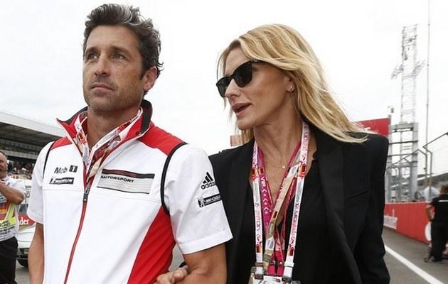 Patrick z żoną /- /East News