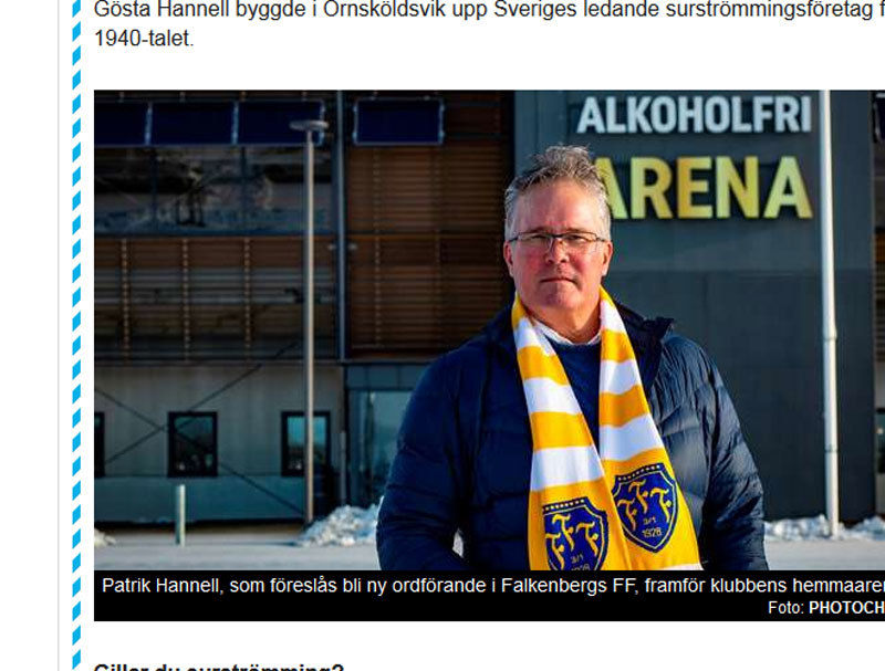 Patrik Hannell / fot. expressen.se /