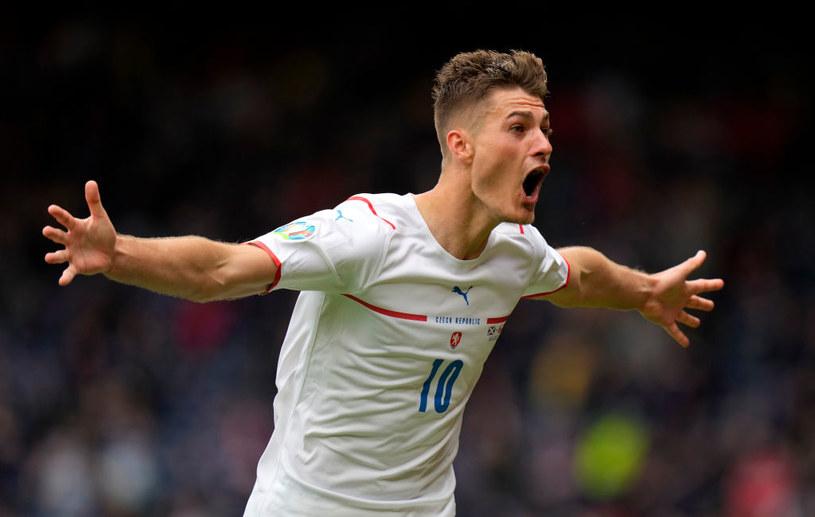 Patrik Schick w meczu ze Szkocją zdobył bramkę niemal z połowy boiska /Petr Josek / POOL /Getty Images