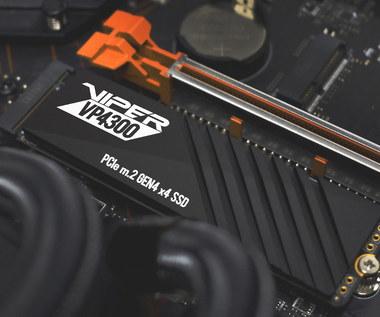 Patriot Viper prezentuje nowy dysk SSD M.2 PCIe Gen4 x4 - VP4300