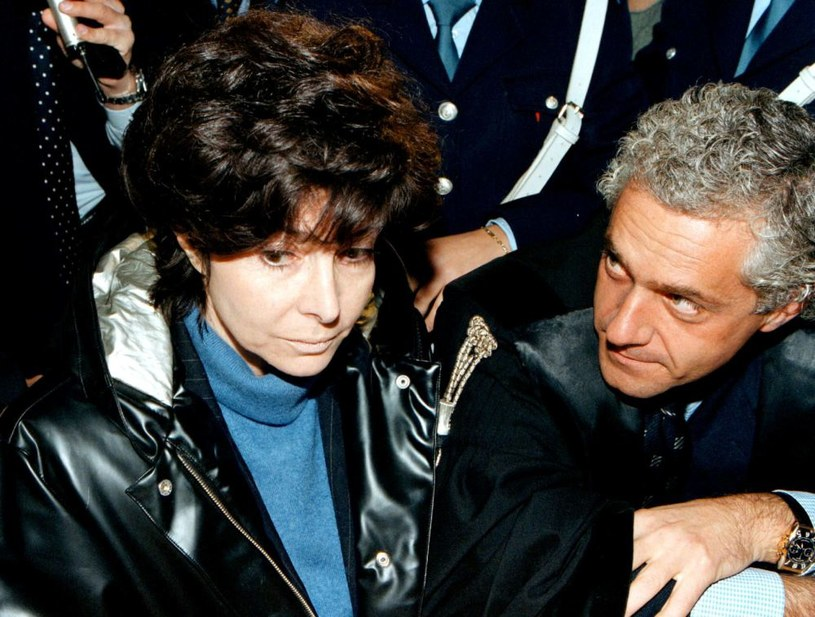 Patrizia Reggiani po usłyszeniu skazującego ją wyroku /FERRARO /PAP/EPA