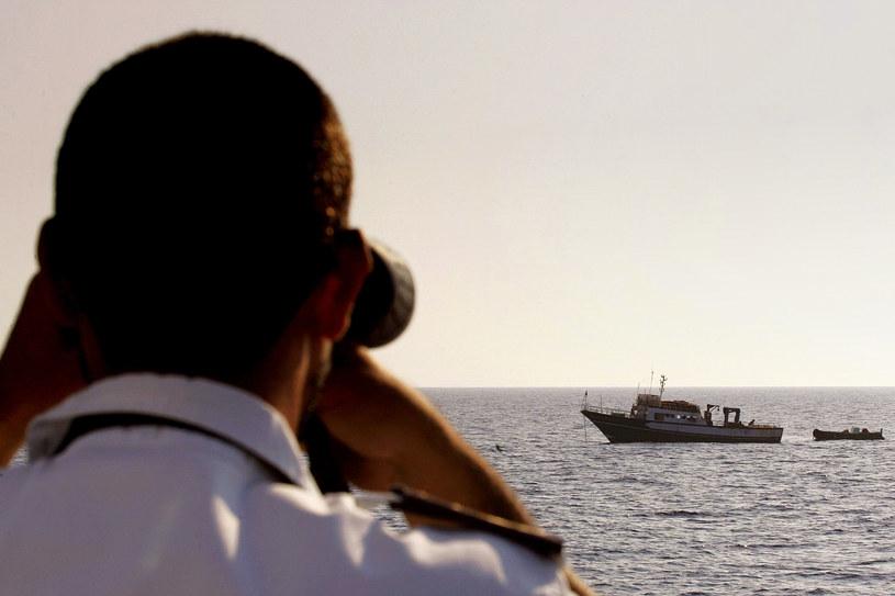 Patrol na Morzu Śródziemnym - zdjęcie ilustracyjne /AFP