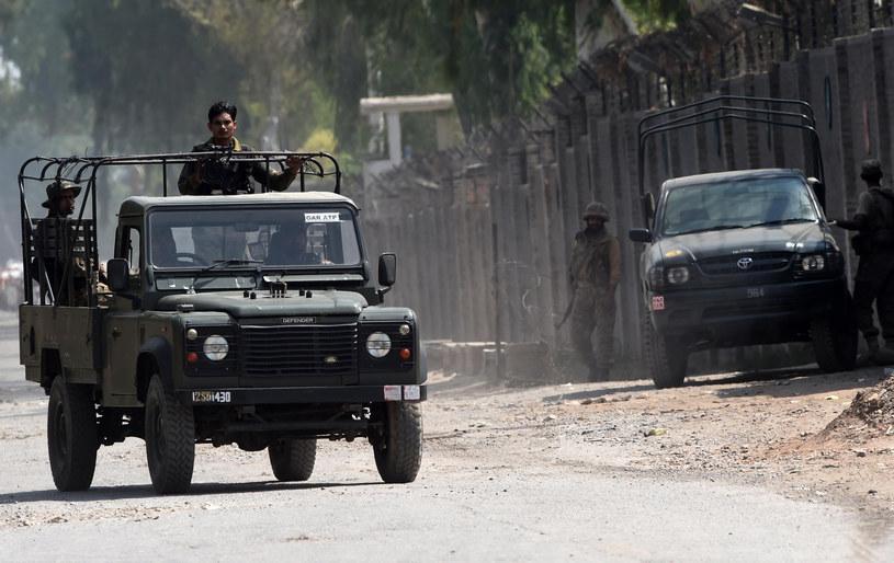 Patrol pakistańskich żołnierzy /AFP