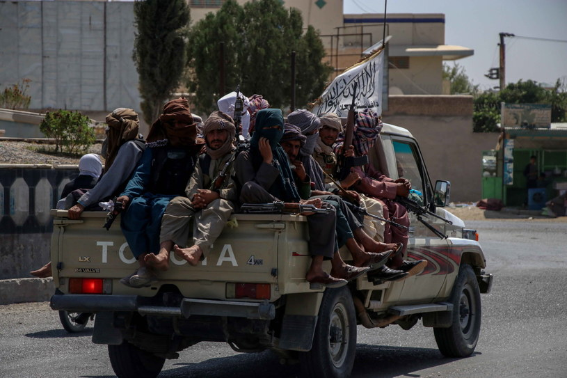 Patrol talibów w Kandaharze/Zdj. ilustracyjne /STRINGER /PAP/EPA