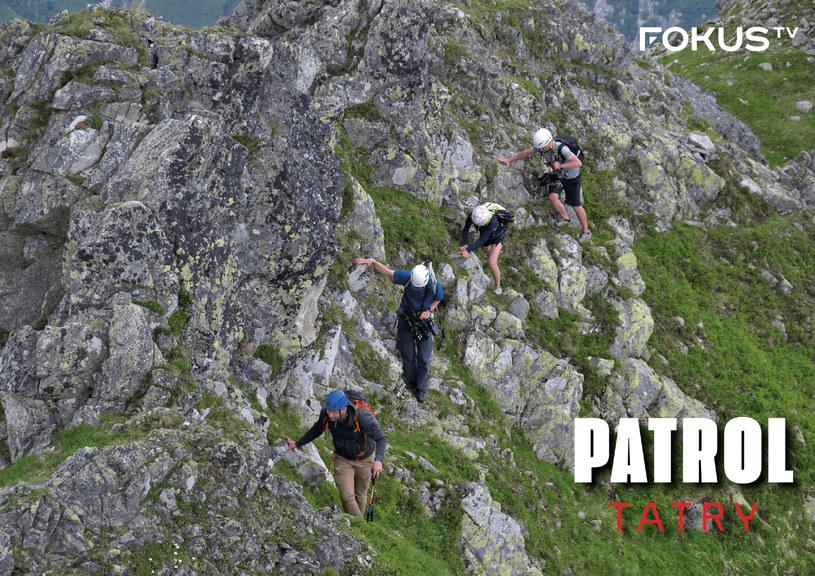 """""""Patrol Tatry"""" opowiada między innymi o działaniach strażników Tatrzańskiego Parku Narodowego /materiały prasowe"""