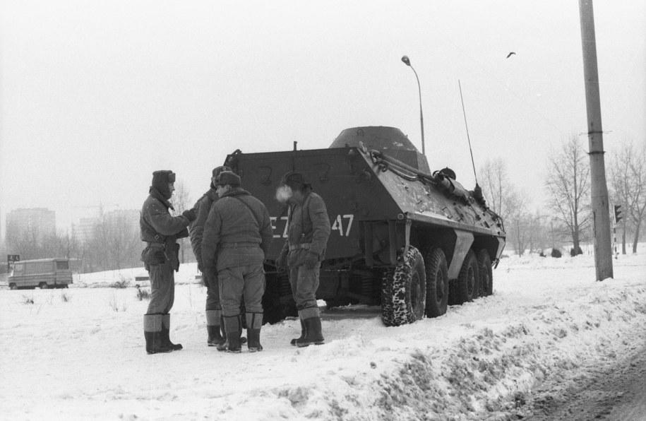 Patrol wojskowy /CAF/Teodor Walczak /PAP