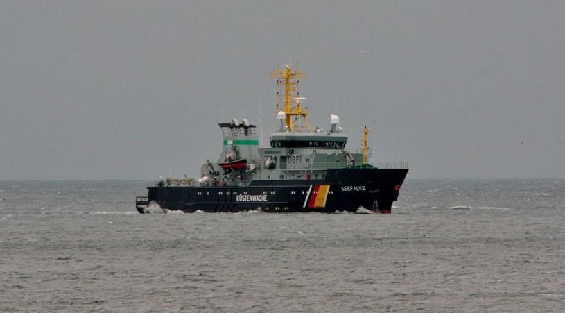 Patrolowiec Seefalke w morzu /domena publiczna