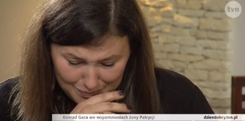 """Patrycja Gaca w wywiadzie dla """"Dzień dobry TVN"""" /Dzień Dobry TVN /TVN"""