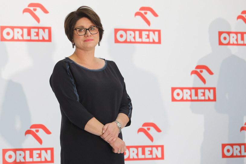 Patrycja Klarecka, członek zarządu ds. sprzedaży detalicznej w PKN Orlen. /Tomasz Jastrzębowski /Reporter