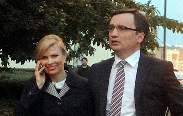 Patrycja Kotecka i Zbigniew Ziobro /Rozbicki /Agencja FORUM