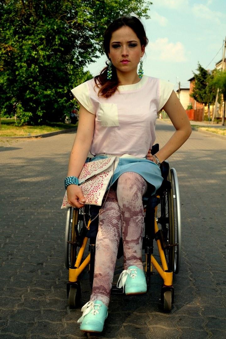 Patrycja Małecka prowadzi swojego bloga modowego Moda con ruedas /materiały prasowe