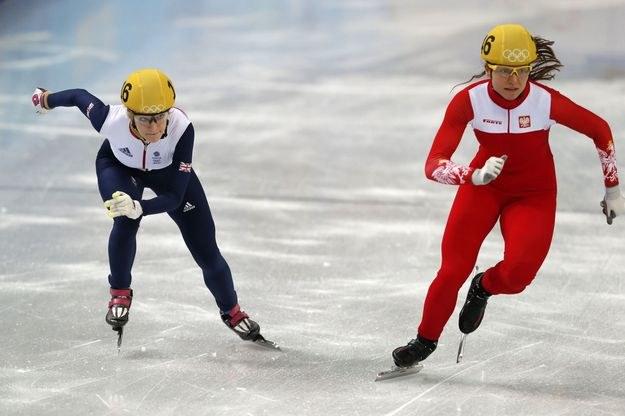 Patrycja Maliszewska (z prawej) /AFP