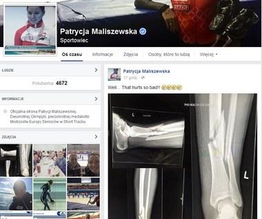 Patrycja Maliszewska złamała nogę podczas zawodów Pucharu Świata