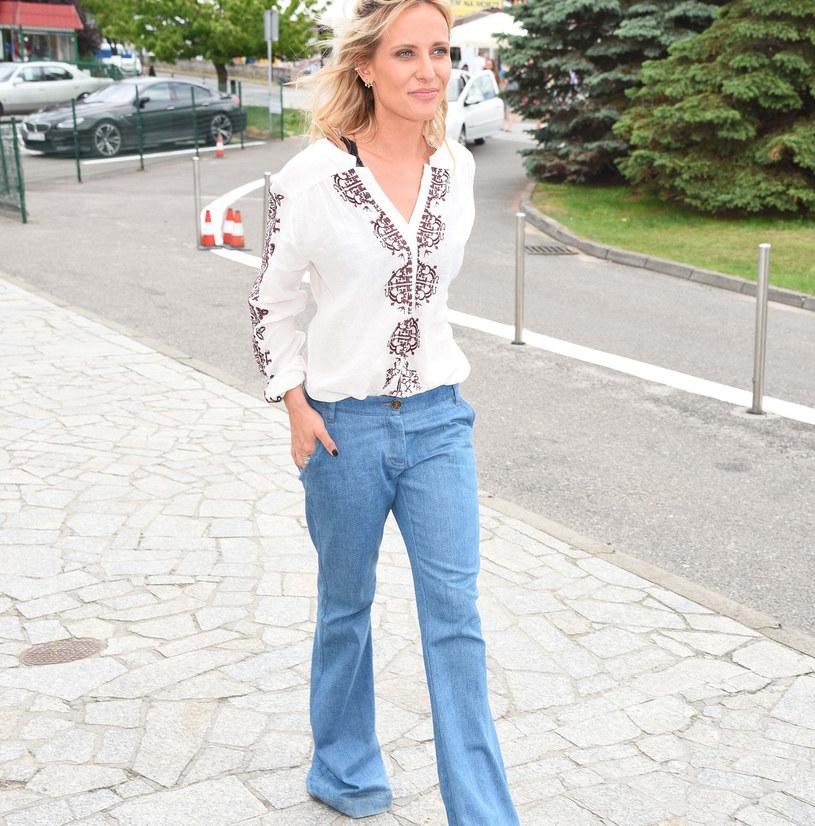 Patrycja Markowska w najmodniejszych spodniach tej jesieni /East News