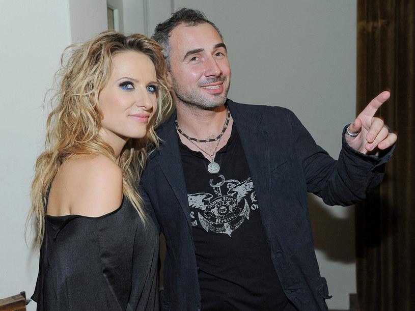 Patrycja Markowska ze swoim partnerem, Jackiem  /Paweł Przybyszewski /MWMedia