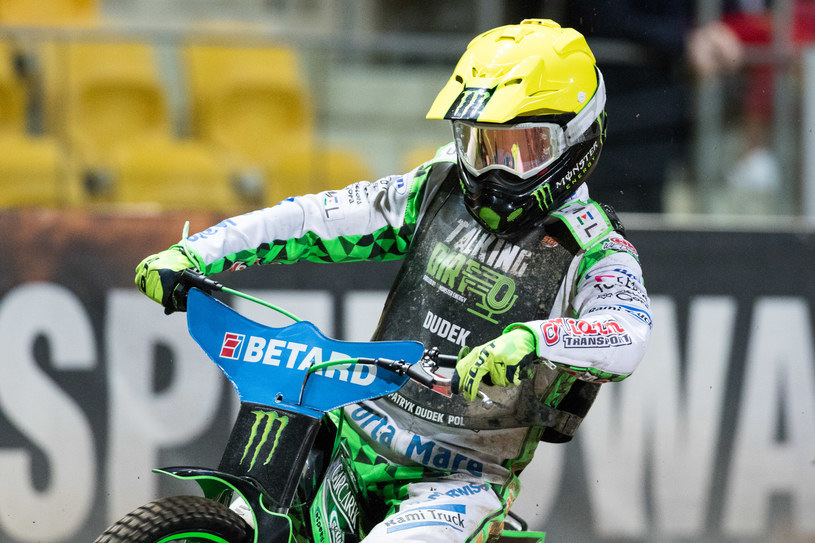 Patryk Dudek w Grand Prix /Wojciech Tarchalski /Newspix