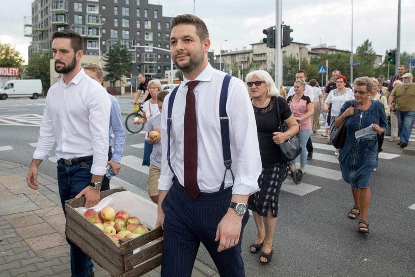 Patryk Jaki, kandydat PiS /Andrzej Iwańczuk /Reporter